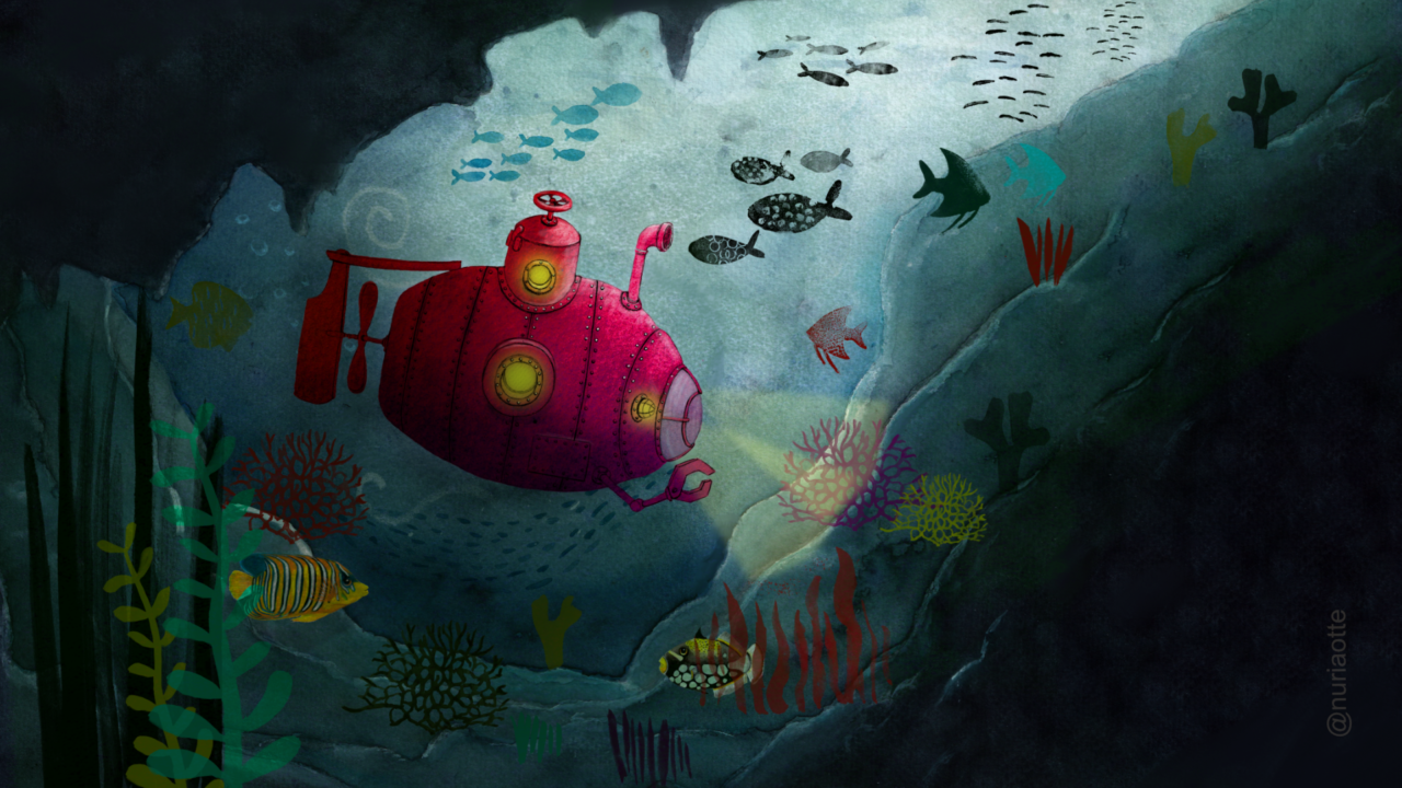 Red Submarine - Nuria Otte